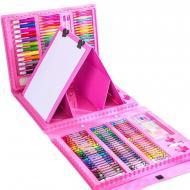 Детский набор для рисования Itrendy 208 предметов Pink (012608340)