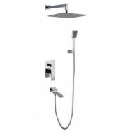 Вбудований змішувач для ванни Gappo Jacob G7107 Хром