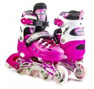 Ролики Scale Sports размер 38-42 Pink