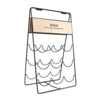 Подставка для вина металлическая Flora  30697