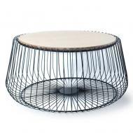 Столик металлический круглый Flora Henri 74 см (30375)
