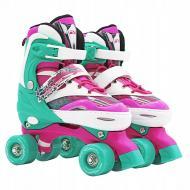 Роликовые коньки SportVida SV-LG0039 Size 31-34 Pink/Green