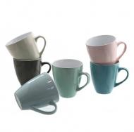 Чашка керамическая Flora Pastel 0,5 л Микс 45148