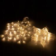 Гірлянда-бахрома Springos вулична 2 м 138 LED Warm White (CL4012)