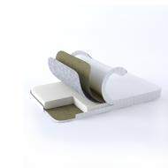 Ортопедический матрас GS Ortholinum Fresh 90х200 см Белый (02022020-36-07)