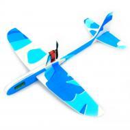 Метальний літак електромоторний Blitz Блакитний