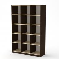 Шкаф книжный Компанит КШ 3 Венге (2213977)