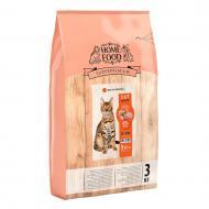 Корм HOME FOOD для дорослих активних котів Курочка та креветка 3 кг