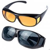 Комплект антиблікових окулярів для водіїв HD Vision Day і Night 2 шт