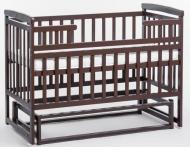 Кроватка трансформер детская DeSon Орех