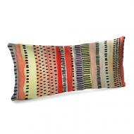 Подушка для дивана бархатная Орнамент 50x24 (52BP_TFL033)