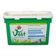 Гель-капсули для прання Chante Clair Vert Igienizzante Bicarbonato 20 прань