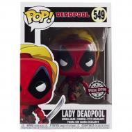 Коллекционная фигурка Funko POP! Bobble Marvel Lady Deadpool