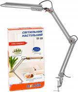 Настільна лампа Delux TF-01 _G23 11W Сріблястий (90015287)