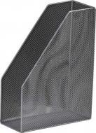 Лоток настільний Buromax вертикальний/1 відділення Срібний