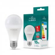Лампа светодиодная TITANUM A65 15W E27 4100K White (10011)