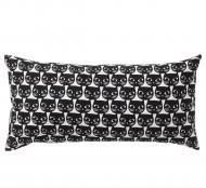 Подушка декоративная IKEA MATTRAM (503.200.23) белый черный