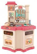 Кухня дитяча звукова з циркуляцією води Рожевий