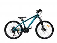 """Велосипед TopRider 680 2021 24"""" 36 см Синій"""
