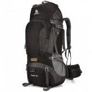 Рюкзак туристичний X6103 60 л Чорно-сірий
