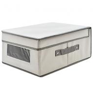Ящик для зберігання речей Hoz ПВХ Світло-сірий (MMS-R29654)