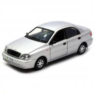 Машинка іграшкова Автопром Daewoo Lanos метал/світло/звук Сріблястий (7778)