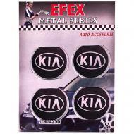 Наліпки на ковпаки Kia 60 мм