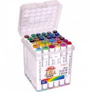 Набор скетч-маркеров Touch Raven 36 цветов з пластиковим контейнером