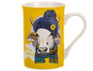 Чашка Lefard Moo yellow NY 300 мл (358-1004)