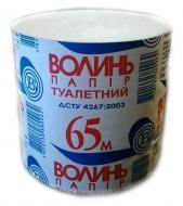 Туалетний папір Волинь 65м 48 шт.  (0001)