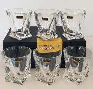 Набор стаканов для виски Bohemia Quadro 340 мл 6 шт (2K936/99A44/340)