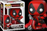 Фигурка Funko Pop Deadpool Дэдпул на скутере 10 см