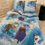 Комплект детское постельное белье полуторка Холодное сердце