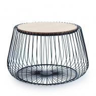 Столик металлический круглый Flora Henri 56 см (30374)