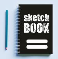 Скетчбук Sketchbook для малювання з принтом Sketch Book