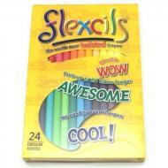Карандаши гибкие Flexcils 24 шт. (FLE124-07)