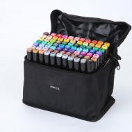Набір професійних маркерів для скетчінга Touch двосторонні 80 кольорів