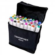 Маркеры для скетчинга TOUCHFIVE 40 цветов Ландшафтный дизайн (TOUCHFIVE-40-LD)