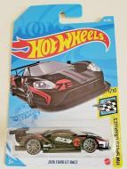 Базовий автомобіль Hot Wheels серії HW Speed Graphics 1/10-2016 Ford GT Race Black 2021