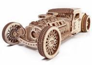 Конструктор механический 3D пазл Хот Род Wood Trick