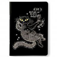 Скетчбук Crazy Sketches Кіт-Бегемот A5 на скобі