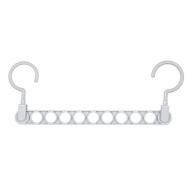 Вішалка для одягу багатофункціональна Сірий (AH0013_1)