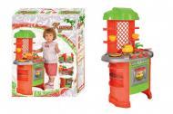Ігровий набір Кухня дитяча Технок № 7 60х48х61,5 см Червоно-зелений (847)