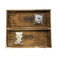 Нарды деревянные Newt Backgammon 1 ручная работа