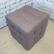 Пуф PidVushko Melva 61 45х45 см Розовый (2020-16)
