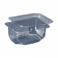 Одноразова харчова упаковка для салатів та напівфабрикатів Альфа Пак ПС-160 на 500 мл, 700 шт/уп