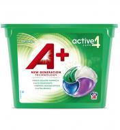 Гель-капсули для прання А+ 4в1 Optimal Універсальні 38 шт.