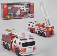 Спецтехніка Пожежна машина Metr+ 9009 Червоний/білий