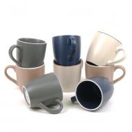 Набор чашек керамических Flora Mineralimi Rotor 0,42 л 8 пр. Микс45134
