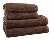 Полотенце махровое Maisonette Gold 50х100 см коричневый 450 г/м2